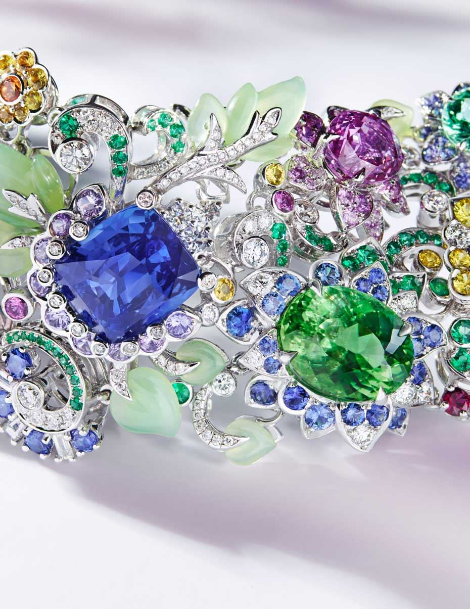 faberg jewellery exclusive a secret garden of coloured